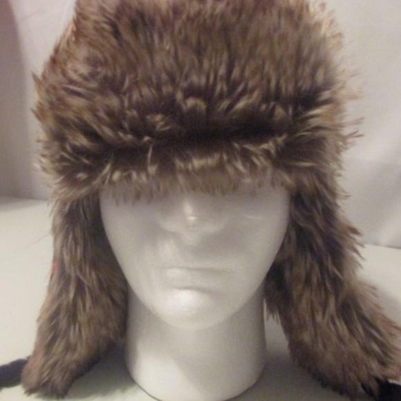 a35e9d899 Gap Kids Trapper Hat Faux Fur Boys L/XL